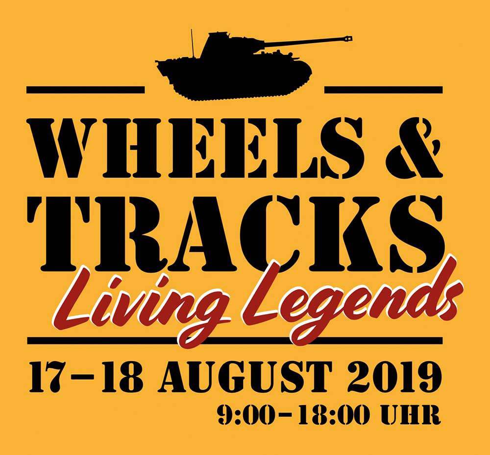 Wheels and Tracks - Living Legends 2019